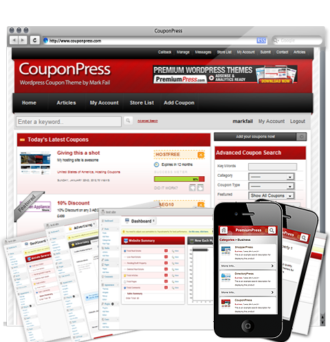 Coupon Theme For Wordpress Start Your Own Coupon Website Today
